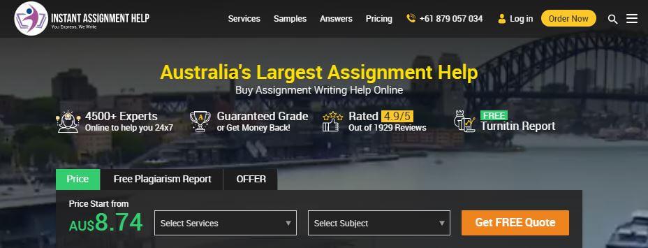 Instantassignmenthelp.com.au